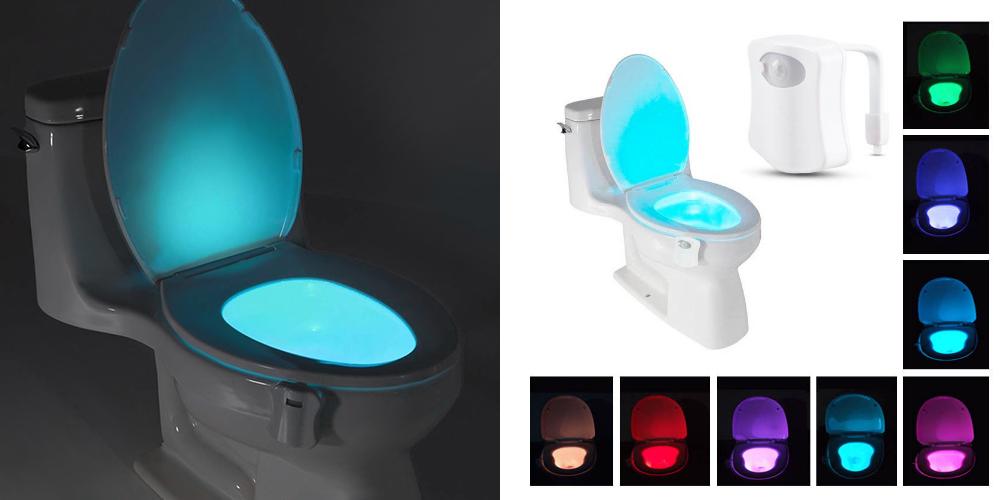 motion toilet light