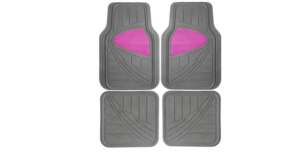pink floormats