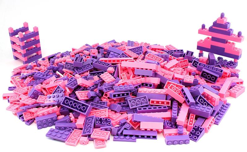 pink legos