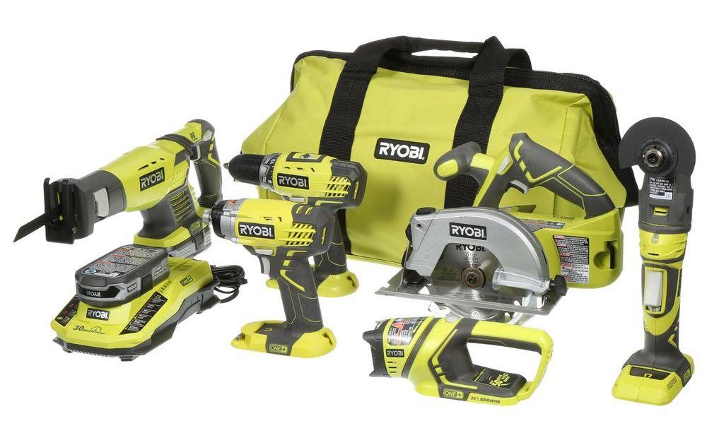 ryobi 6 tool set