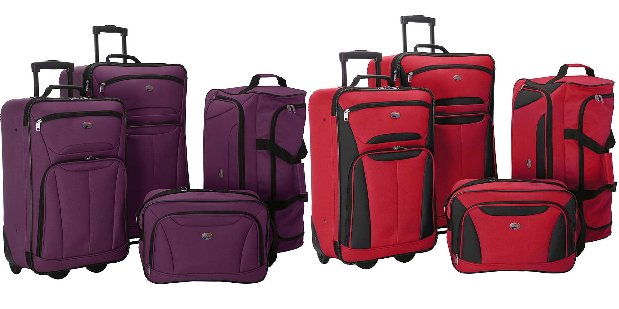 american tourister 4 pc luggage