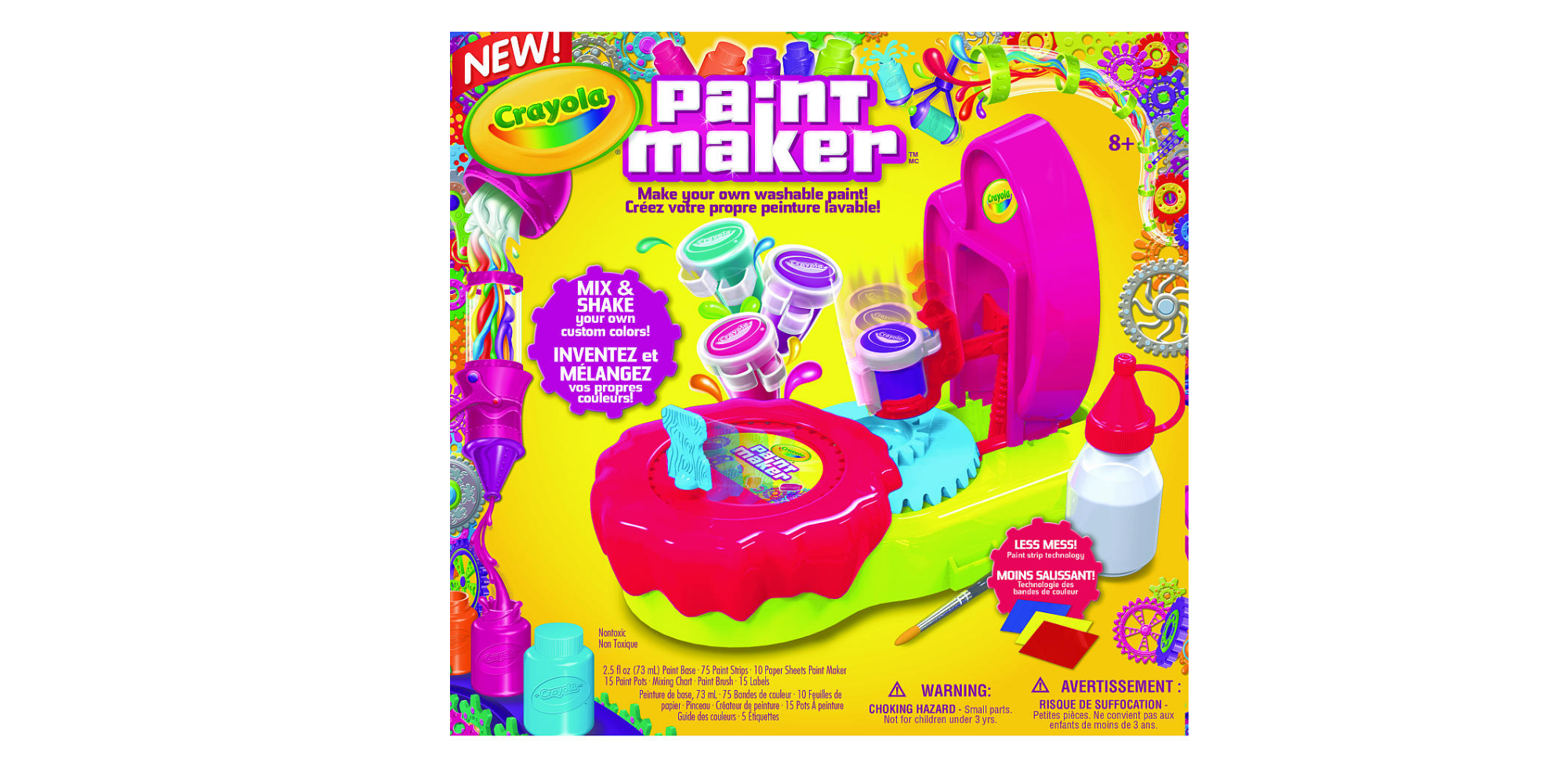 crayola pink paint maker