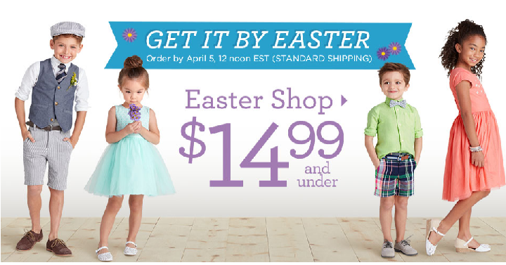 easter clothes gymboree