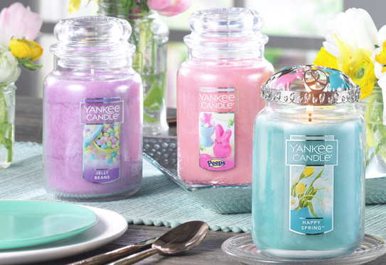 large easter candles