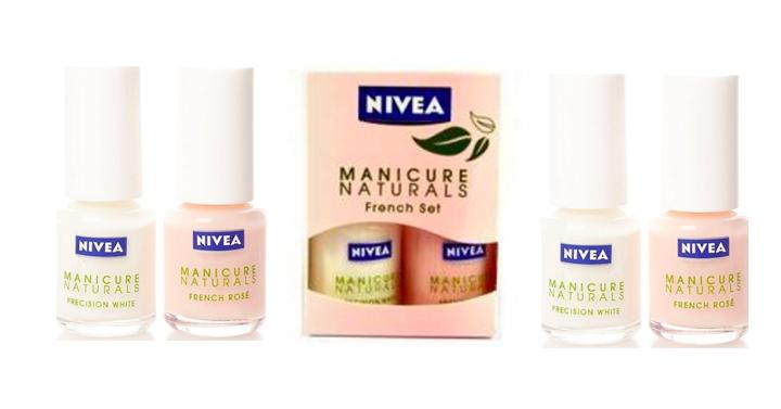 nivea naturals manicure