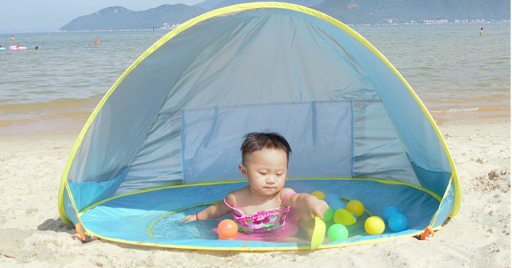 Right now you can get the MonoBeach Pop up Baby Beach Pool Tent for only $33.99! This pool tent has awesome reviews. This way you wonu0027t have to battle ...  sc 1 st  Freebies2Deals & MonoBeach Pop up Baby Beach Pool Tent Only $33.99! - Freebies2Deals