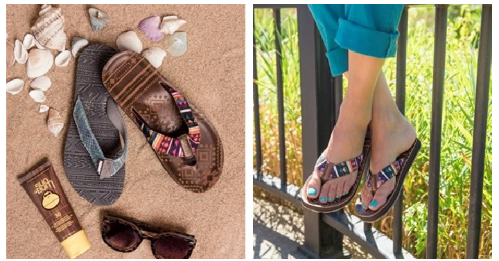 MUK LUKS Emma Flip Flops Only $10.99! (Reg. $27) - Deals & Coupons