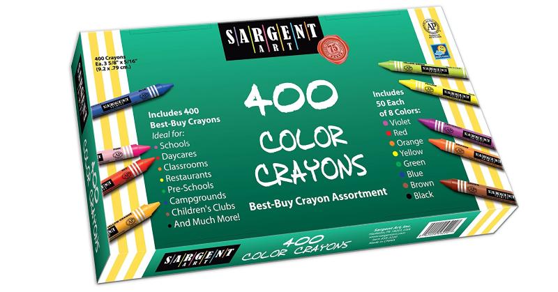 sargent art 400 crayons