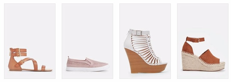 First Pair of Shoes or Sandals From Justfab Only $10!