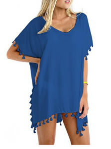 tassle swimsuit cover up