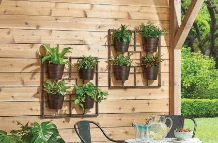 vertical garden grid