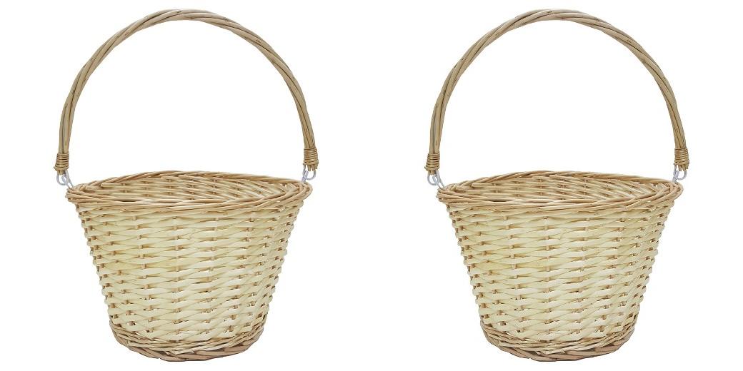 wicker easter basket