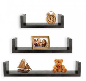 floating u shelves