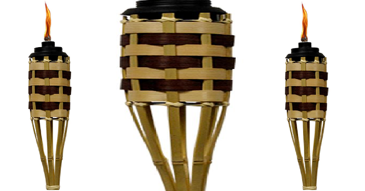 Home Depot Grenada Bamboo Tiki Torch Only 1 88 Each Common Sense With Money