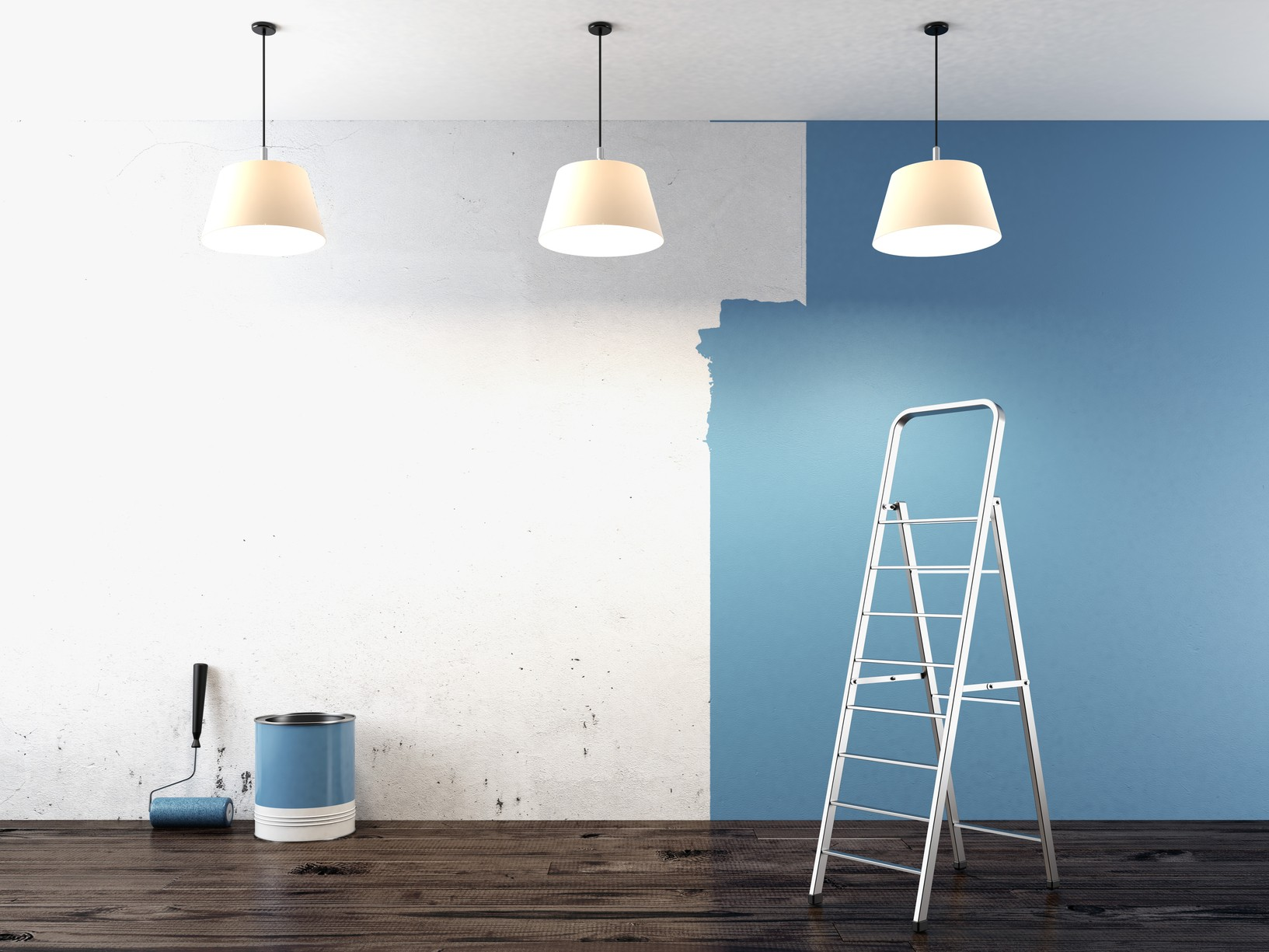 Light blue paint colors home depot - Free Interior Paint And Drywall Repair Diy Workshop At Home Depot This Weekend