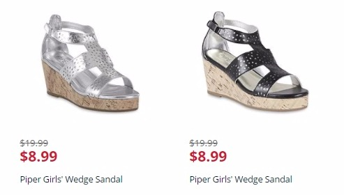 Shoes BOGO for  1 at Kmart! GREAT Deals on Girls Wedge Sandals and Women s  Rain Boots! 6c04ab4ca14