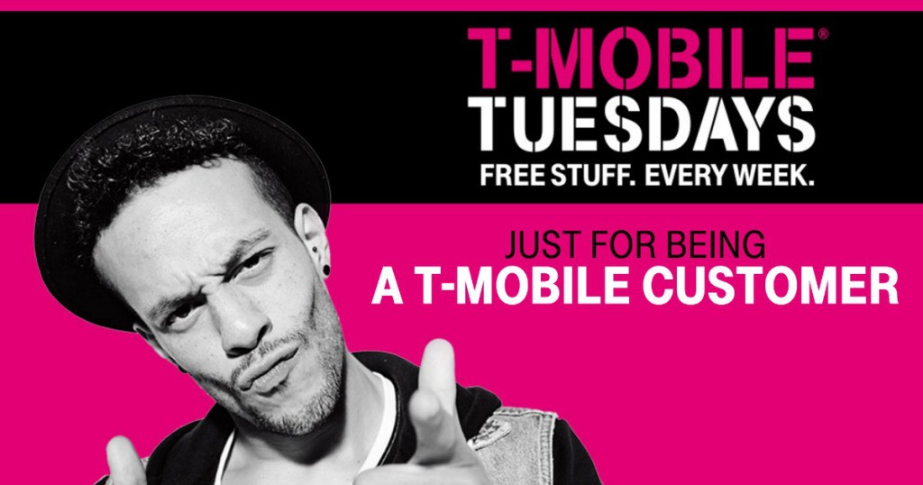 Get FREE Stuff on T-Mobile Tuesdays!Starting Tuesday, June 7 and every Tuesday after T-Mobile is going to have free stuff and contests available. Week 1 they're going to have free Dominos Pizza, Wendy's Frosty, and VUDU Rentals.