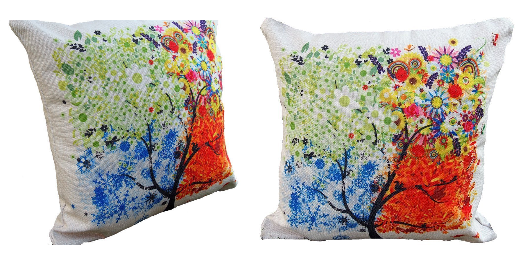 tree throw pillow cover
