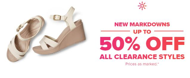 3bc836558240ca Crocs  Save up to 50% off Select Styles! Plus