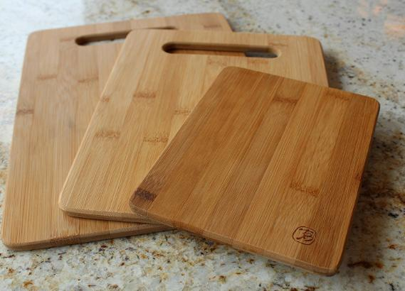 Totally Bamboo 3 Piece Bamboo Cutting Board Set Only 1299