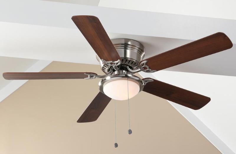 Hugger 52 in LED White Ceiling Fan—$33 98 Freebies2Deals
