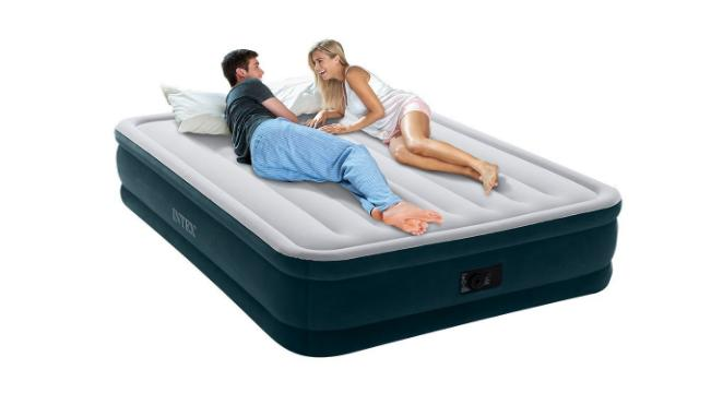 Electric Pump Airbed With Built In Electric Pump