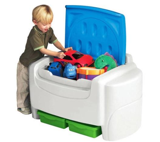 Toy Boxes For Boys : Little tikes sort n store toy chest only
