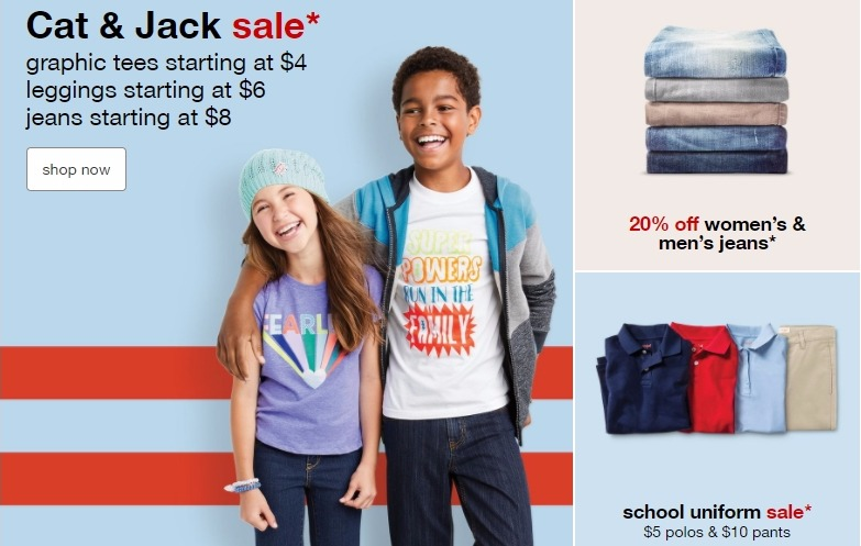 74e5906a6f4ab Target Back-to-School Clothing Deals! Deals on Cat   Jack