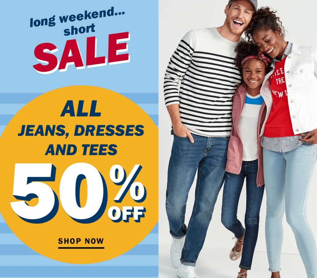 Designer deals club for hancock - Woo Hoo Stock Up And Great Ready For Fall With The Old Navy Labor Day Sale Take 50 Off All Jeans Dresses And Tee S For The Entire Family
