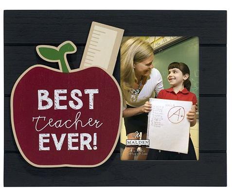 Kohl\'s Cardholders: Malden \'\'Best Teacher Ever\'\' 4\'\' x 6\'\' Frame ...