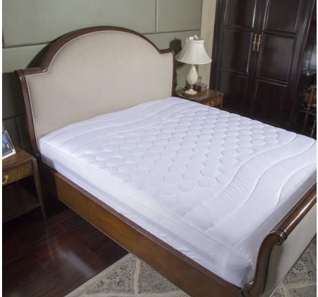 Twin Hypoallergenic Overfilled Mattress Pad by Bedsure