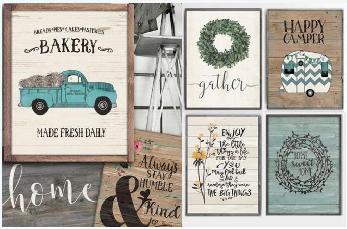 Large Rustic Farmhouse Prints Only 4 37 Freebies2deals