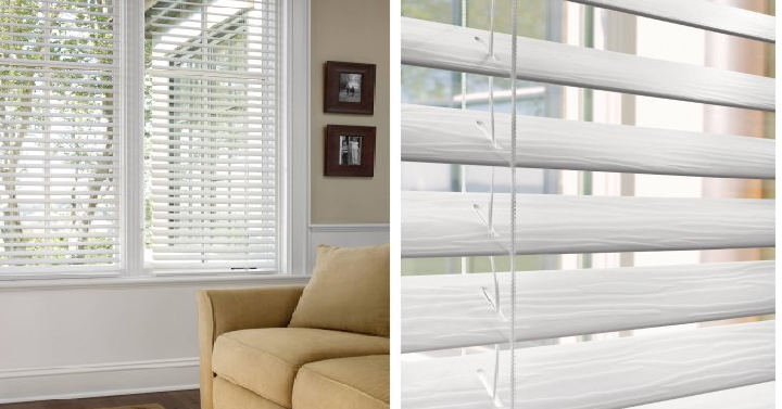 Better Homes And Gardens 2 Faux Wood Blinds Only