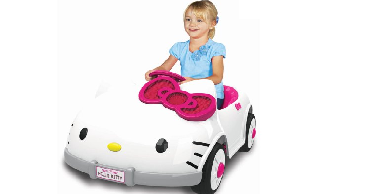 Dynacraft Hello Kitty 6v Battery Powered Ride On Car Only