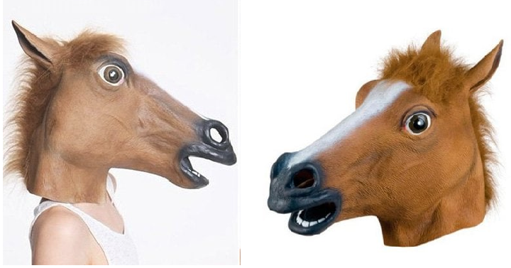 are you getting ready for halloween here is a great option for a costume gearbest has the halloween horse head mask for only 899