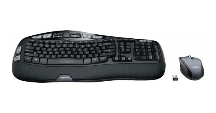 4d04a8a397b Looking for a new keyboard and mouse? This is a great price on a wireless  set! Stay comfortable all day long with this Logitech wireless keyboard and  mouse ...