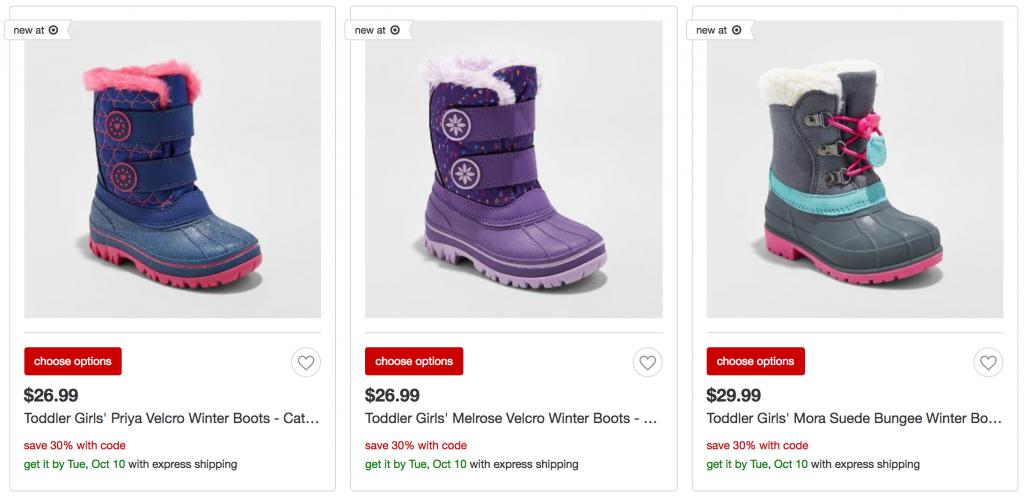 Target! Including Rain \u0026 Snow Boots