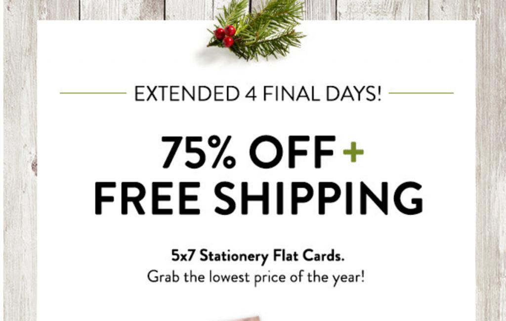 75% Off Holiday Cards At Snapfish! - Freebies2Deals