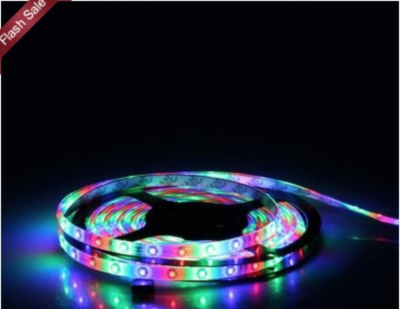 Color Changing Led Light Strips Interesting FLASH SALE Color Changing LED Light Strip 6060 Shipped