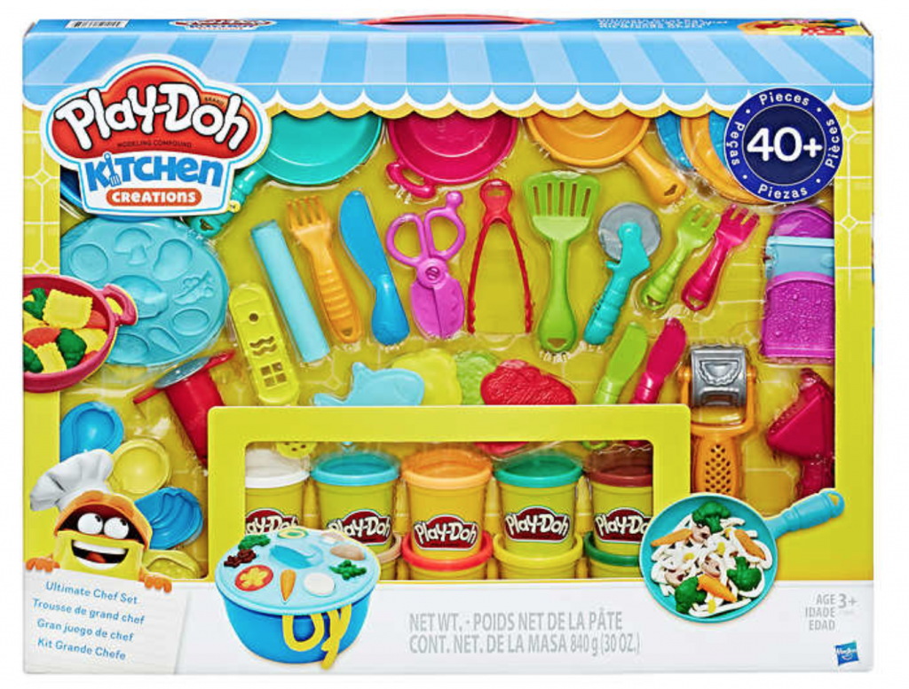 Costco Members Can Grab The Play Doh Kitchen Creations Ultimate Chef Set For Just 19 99 To Compare This Is Ing 29 62 On