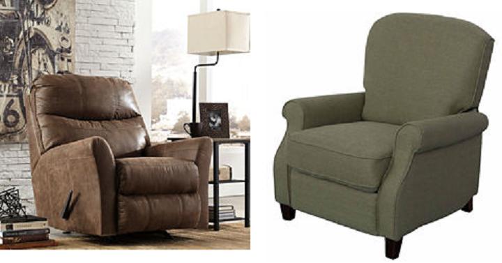 buy one get one free recliner ashley furniture shower. Black Bedroom Furniture Sets. Home Design Ideas