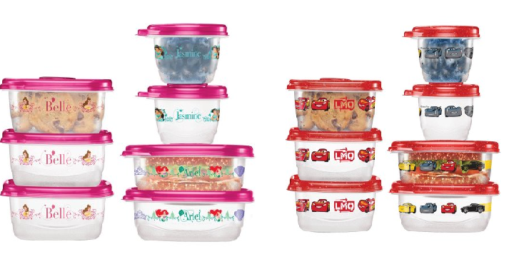 Glad Disney Food Storage Containers 14 Ct Only 3 98