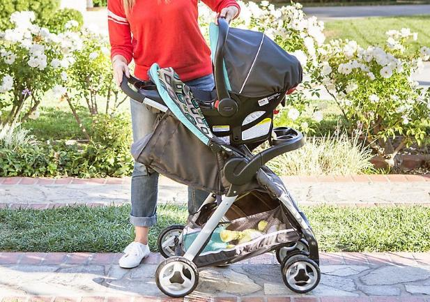 fc041d9a4d5 Graco FastAction Fold Click Connect Travel System Stroller (Affinia) – Only   139.99 Shipped!