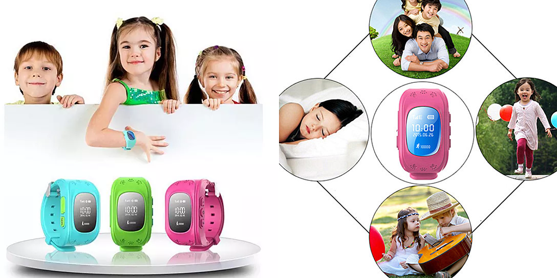 *HOT* Kid Tracker GPS Smartwatch with 911 & Parent Call ...
