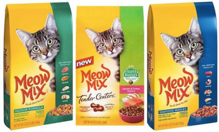 New Coupon + Cartwheel = $1.80 Meow Mix Cat Food!! (3 Lb bags) - Freebies2Deals