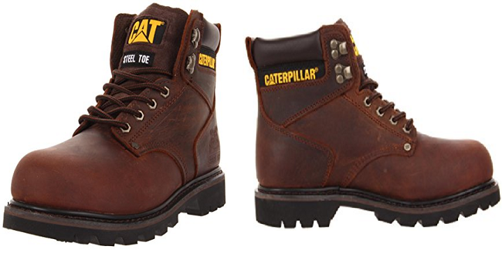 c03ccd8a751 Amazon: Caterpillar Men's Second Shift Steel Toe Work Boots Starting ...
