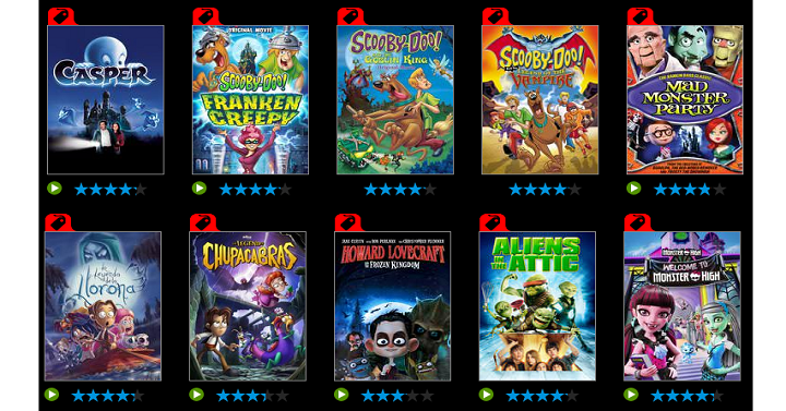 VUDU: Spooky Family Halloween Movie Rentals Only $.99 Each ...