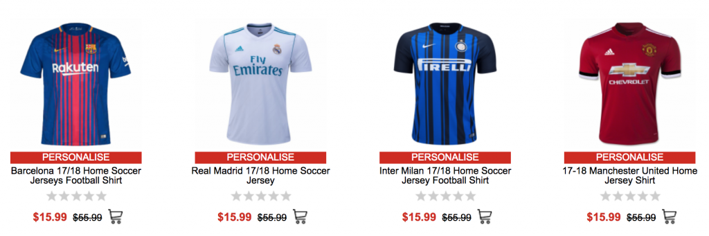 2af9aaefe GoGoal Shop is featuring select Soccer Jerseys for just  15.99 shipped  today only