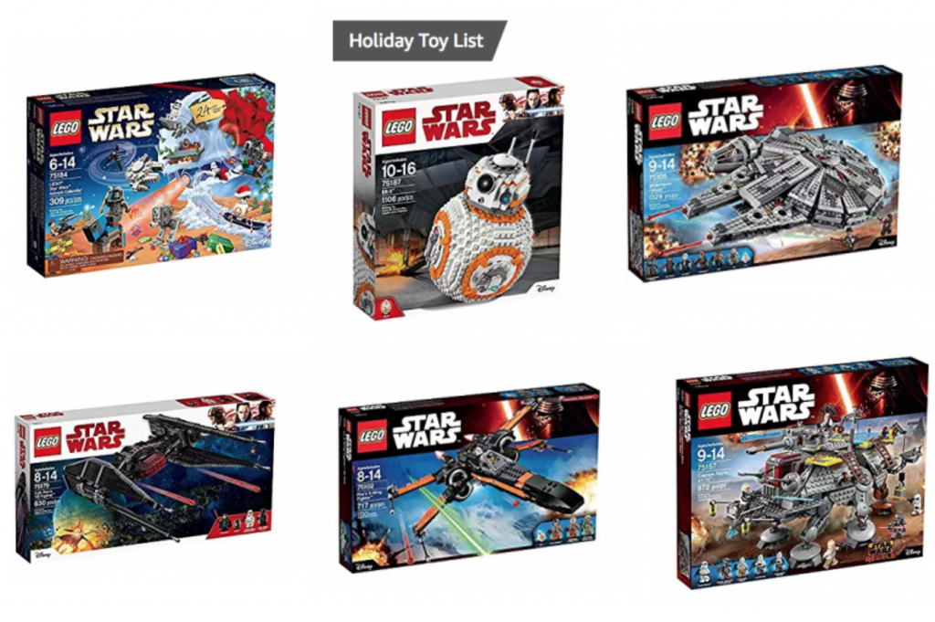 Save Up To 30 Off Lego Star Wars On Amazon Freebies2deals