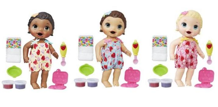 Baby Alive Super Snacks Snackin Lily Baby Doll Only 14